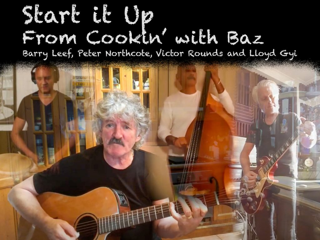 Start It Up Cover - Barry Leef