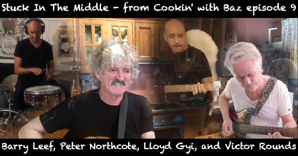 Barry Leef - Stuck In The Middle - from Cookin' with Baz episode 9