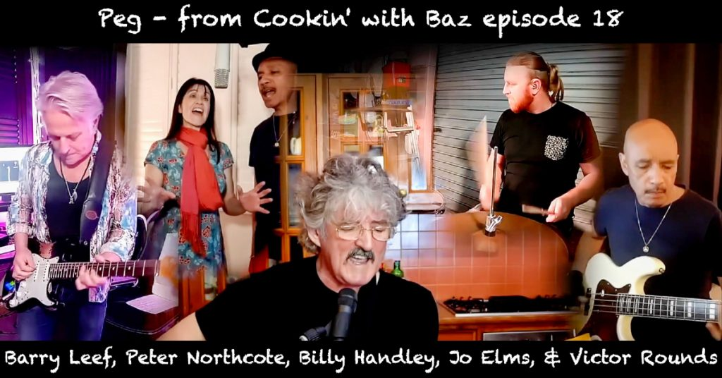 Barry Leef - Peg - from Cookin' with Baz episode 18