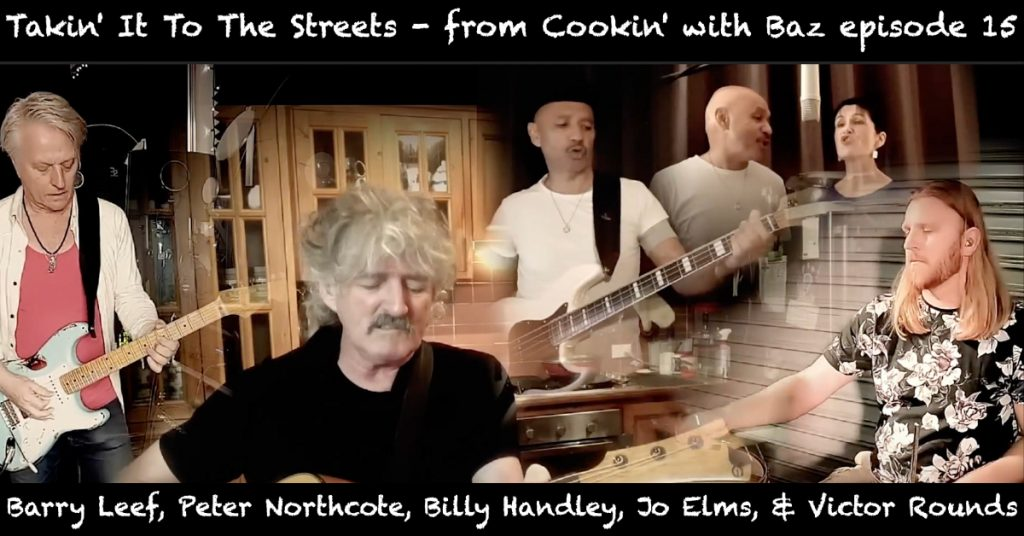 Barry Leef - Takin' It To The Streets - from Cookin' with Baz episode 15